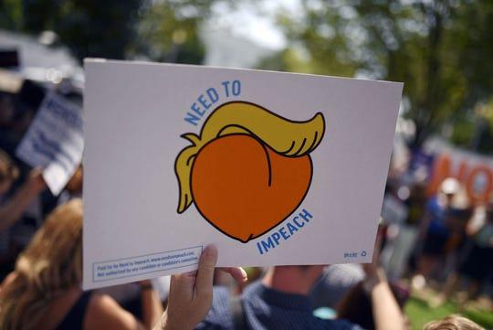 Protesta en contra de Trump.