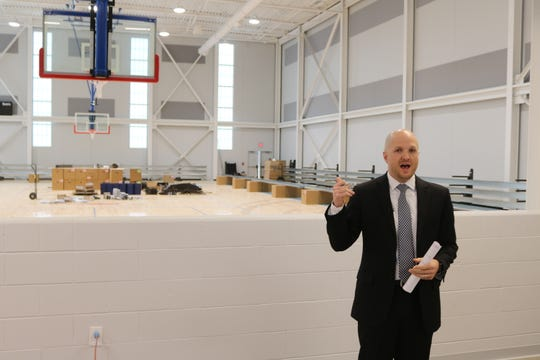 Wes Hall, general manager of the Cedar Point Sports Center, said that Margaretta High School's boys' basketball team will be the first to take the championship court floor behind him for a game on Jan. 11.