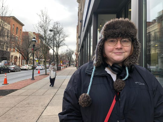 Megan Ohrt, 26, of York City said she supports the impeachment against President Donald Trump. The U.S. House of Representatives is expected to vote on two articles of impeachment Wednesday, Dec. 18.