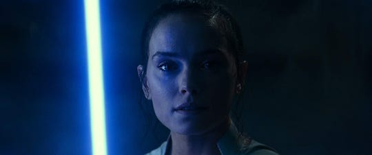 """Daisy Ridley stars in """"Star Wars: The Rise of Skywalker."""" The movie opens Thursday at Regal West Manchester, Queensgate Movies 13 and R/C Hanover Movies."""