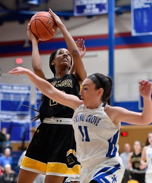 Red Lion's Makiah Shaw has earned third-team all-state recognition in 6-A girls' basketball from Pennsylvania's sports writers.
