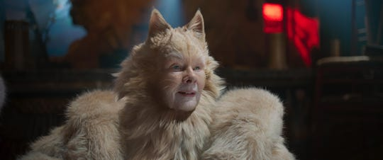 """Judi Dench stars in """"Cats,"""" opening Thursday at Regal West Manchester, Queensgate Movies 13 and R/C Hanover Movies."""