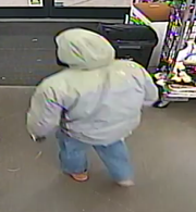 This is a second photo of the suspect in the Dec. 15 armed robbery at the Dollar General in Peach Bottom Township, according to Pennsylvania State Police.