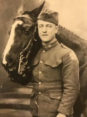James' grandfather, Nicholas Luther, served in Europe during World War I.