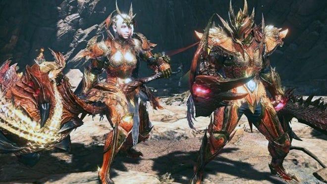 The new Safi'Jiiva gear in Monster Hunter World: Iceborne.