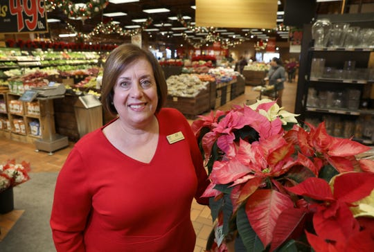 Jo Natale, vice president of media relations, is retiring after 27 years with Wegmans. She is seen here in the Wegmans on Chili Avenue.