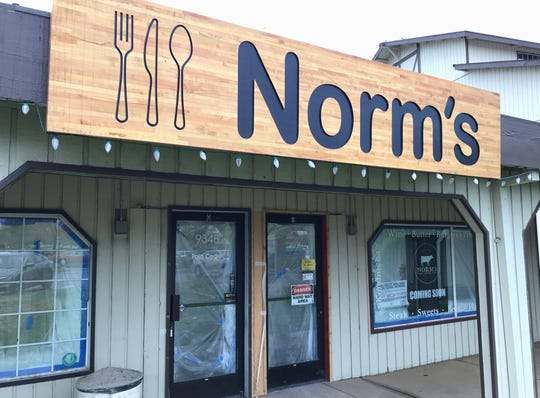Norm's, a new restaurant that has opened in the Palo Cedro Shopping Center.
