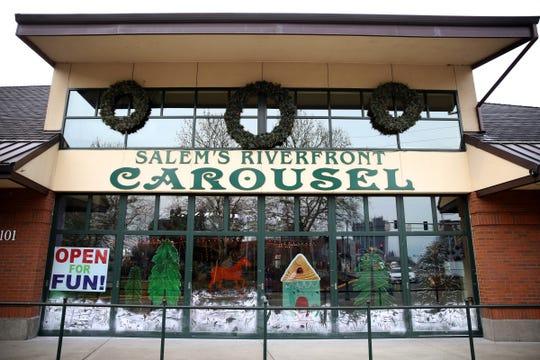 Riverfront Carousel in Salem on Dec. 17, 2019.