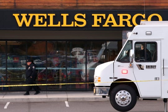 An attacker stabbed multiple people at a suburban Portland shopping center Dec. 18, 2019, killing one person and wounding others before being apprehended, authorities said. Police in the city of Beaverton said that at least one person was stabbed inside a Wells Fargo bank and that multiple people were taken to hospitals.
