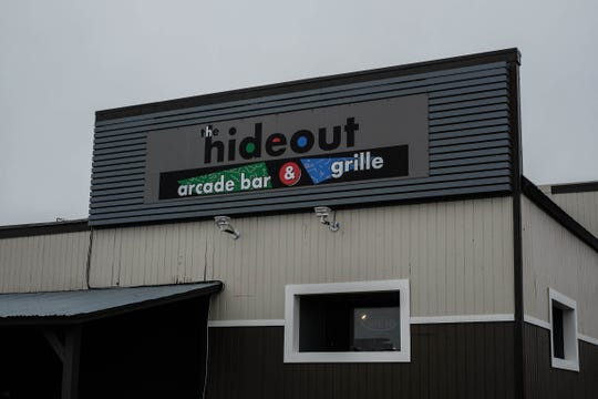 The Hideout is the Rehoboth area's new (and only) arcade bar and grille, with dozens of games straight from your childhood, along with craft beer, boozy milkshakes and an extensive food menu. Monday, Dec. 16, 2019.