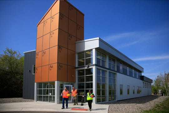 This May 30, 2013, file photo shows the Twin Metals office in Ely, Minn. Twin Metals Minnesota has formally submitted a plan to regulators for an underground copper-nickel mine in northeastern Minnesota. (Brian Mark Peterson/Star Tribune via AP)