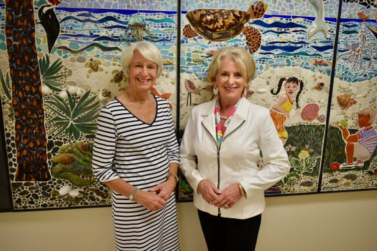 Janet Gefaell, left, and Suzi McCoy Shriner are co-chairs of the Starfest luncheons, Childcare Resources' signature fundraising event on Feb.3-4, 2020, at Quail Valley River Club, Vero Beach.