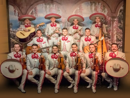 Mariachi Sol de Mexico from Los Angeles will perform Friday at the Plaza Theatre.