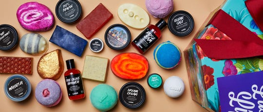 Lush Cosmetics is known for its signature bath bombs and other beauty products. The retailer is coming to the Cielo Vista Mall in 2020.