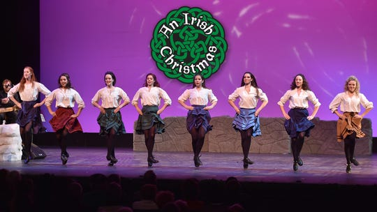 Dancers with An Irish Christmas will Dec. 20 and 21 at the Scherr Forum Theatre in Thousand Oaks.