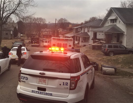 Emergency vehicles and more than a dozen officers were on scene during a Prospect Avenue drug raid Wednesday morning.