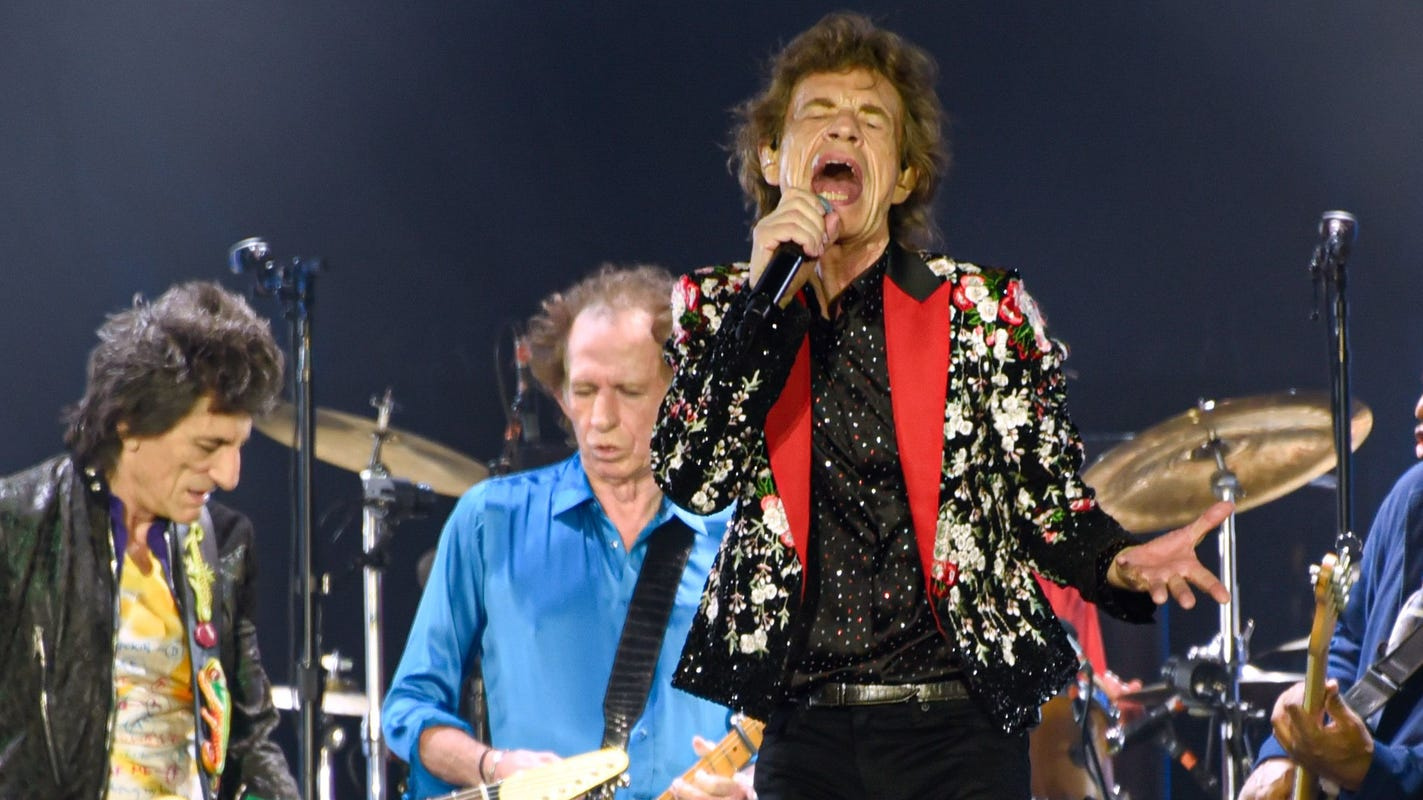 Rolling Stones' first new song in eight years, 'Living in a Ghost Town,' has quarantine theme