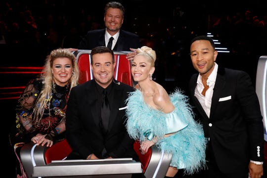 Kelly Clarkson, Carson Daly, Blake Shelton, Gwen Stefani and John Legend will be back when NBC's 'The Voice' returns this fall.