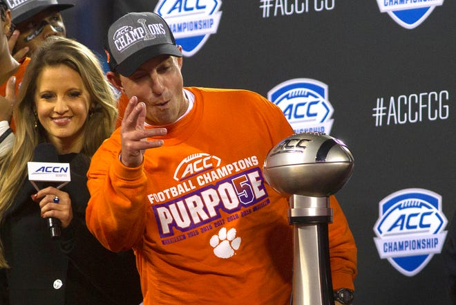 Clemson and coach Dabo Swinney are poised to have the nation's top recruiting class this year.