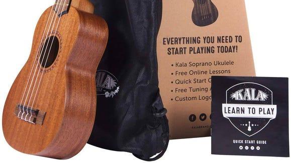 Best gifts for musicians: Kala Ukulele starter kit