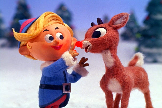 Rudolph, Charlie Brown and the Grinch