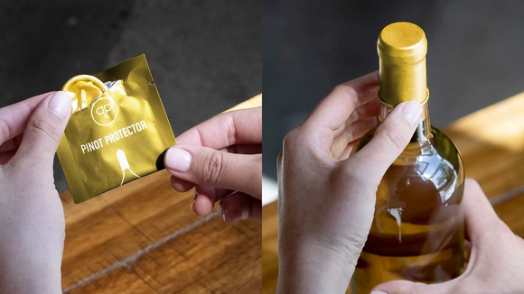 Prolong beverage freshness—and get a few chuckles—with these reusable bottle stoppers.