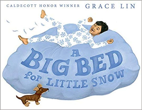 """""""A Big Bed for Little Snow"""" by Grace Lin"""