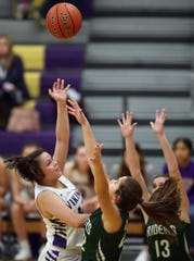 North Kitsap's Noey Barreith earned Olympic League 2A girls basketball most valuable player honors this season.