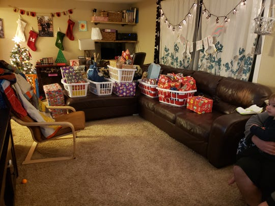Aiden's Heroes collected gifts and food for families who may not have the funds to celebrate the holidays.