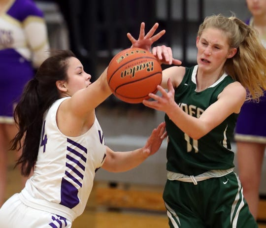 North Kitsap's Noey Barreith and the Vikings are currently in fourth place in the Olympic League 2A standings.