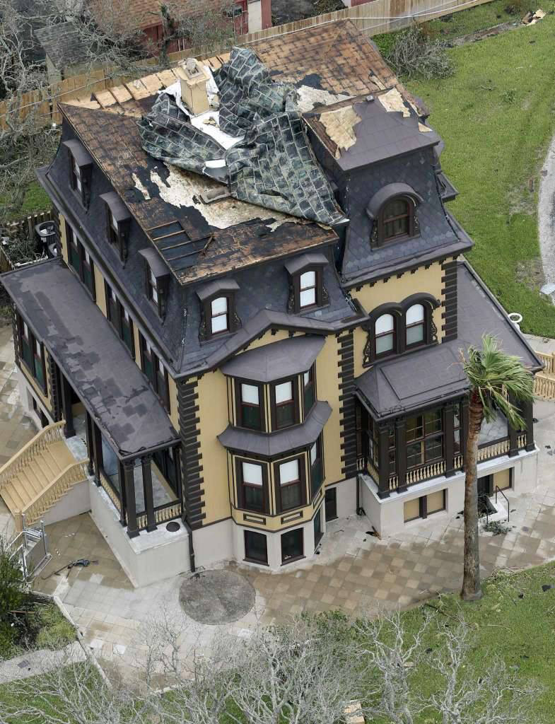 The Fulton Mansion has now reopened for tours after being completely restored. Hurricane Harvey severely damaged the structure when the storm struck in August 2017.