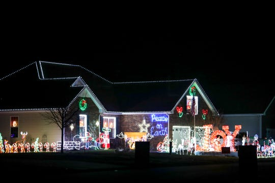 Wayne Hammonds placed first in the city in the 2019 Christmas Lighting Contest for the home at 3919 Rhonda Court in Clarksville.