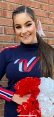 Cheerleader Kaitlin Marinelli of Kingwood Township has been picked for London's New Year's Day Parade.
