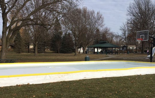 Altoona opened an outdoor ice skating rink at Haines Park last week. The rink, which was donated to the city, is the sole outdoor ice skating rink in Altoona.