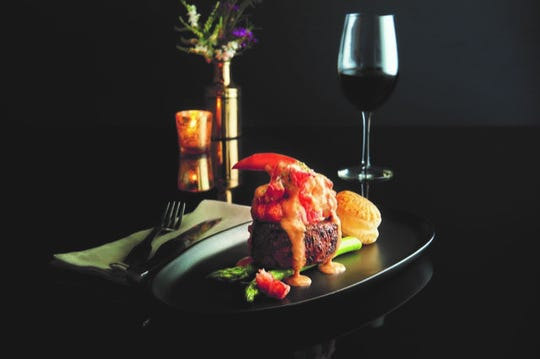 Filet & Lobster Oscar  is on Morton's the Steakhouse Christmas Day menu.