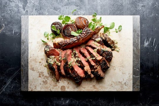 Côte de Boeuf is on Morton's the Steakhouse Christmas Day dinner.