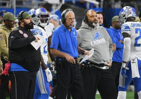 The 2019 season has been less than a hallmark campaign for Lions head coach Matt Patricia and his defensive personnel that includes  coordinator Paul Pasqualoni and line coach Bo Davis.