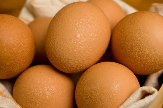 U.S. health officials investigating a listeria outbreak are telling food service operators not to use hard-boiled eggs sold by the Georgia company Almark Foods.
