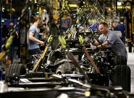 Under the replacement for NAFTA, automakers will have to produce cars with75% of their parts originatingfrom the U.S., Canada or Mexico to qualify for duty-free treatment.