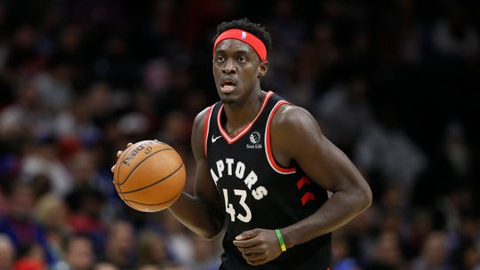 Raptors forward Pascal Siakam is averaging 25 points and 8.2 assists this season.
