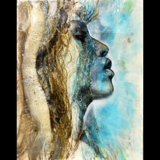 Artist Christine Adele Moore will show her work Jan. 11-12 at the Bonita Springs National Art Festival.