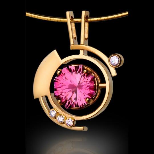Mark Van de Bogart will show and sell his custom jewelry Jan. 11-12 at the Bonita Springs National Art Festival.
