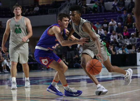 Fort Myers faces Marshall County in the first round of the 2019 City of Palms Classic on Wednesday, Dec. 18, 2019, at Florida Southwestern State College in Fort Myers.