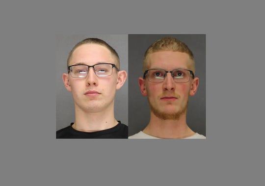 Ryan Desmith, left, and JordanSalmi