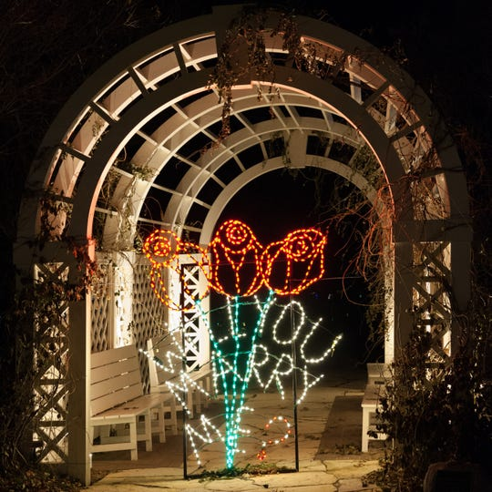 "The ""Will You Marry Me?"" sign at Green Bay Botanical Garden is only turned on during nights when there's going to be a proposal at WPS Garden of Lights."