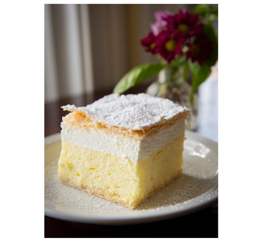 Delicate French Creamy cake
