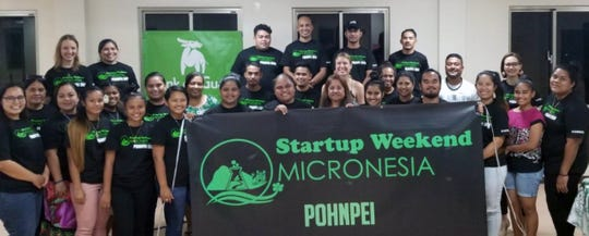 A team of budding entrepreneurs from Pohnpei was announced as the overall winner of this year's Startup Weekend Micronesia for Drop & Drop, a delivery service for Pohnpei residents.