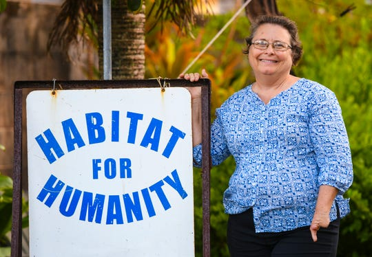 Rebecca North, a longtime volunteer of the nonpofit group, Habitat For Humanity, as she is photographed in Hagåtña on Thursday, Dec. 19, 2019.