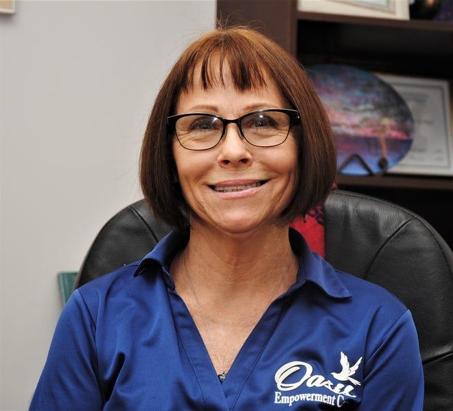 Linda Laba at Oasis Empowerment Center, Tamuning, Guam, Dec. 18, 2019