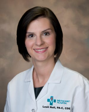 Lesli Nall is a board-certified Physician Assistant (PA-C) at the Methodist Health Multi Specialty Clinic located at 1305 North Elm Street in Henderson, KY. Nall specializes in endocrinology services that include type 1 and type 2 diabetes, lipid disorders, thyroid disease, pituitary disorders and osteoporosis. She also initiates and manages insulin pump therapy and continuous glucose monitoring.